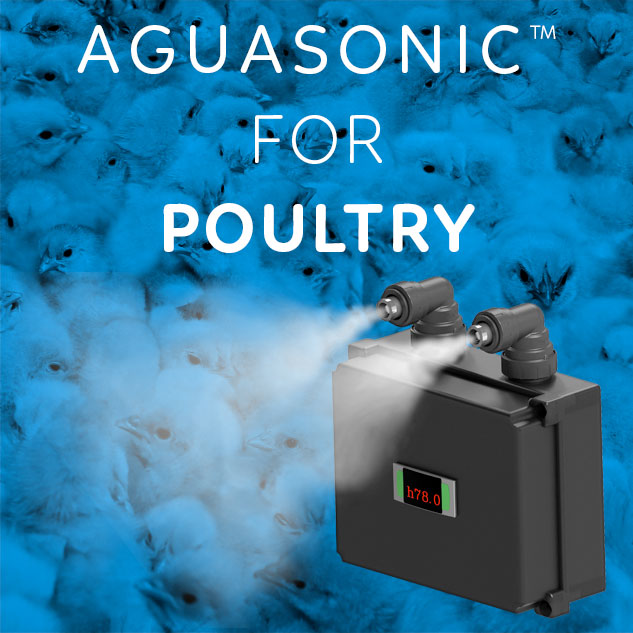 Aguasonic™ for poultry