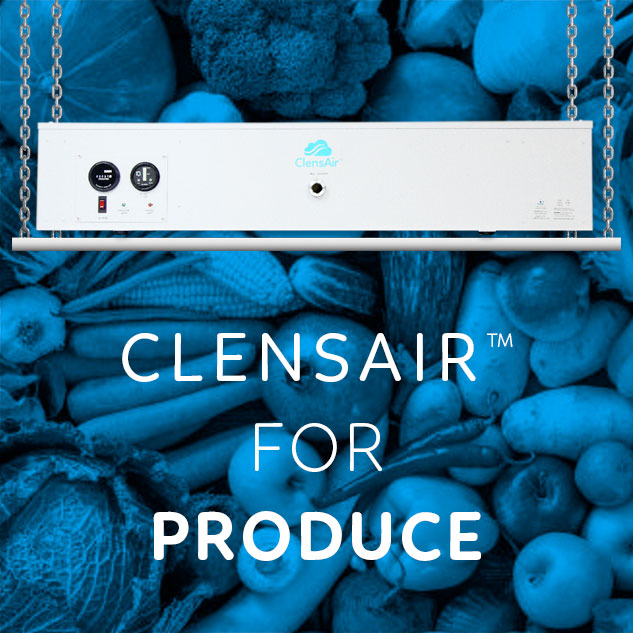 ClensAir™ for produce