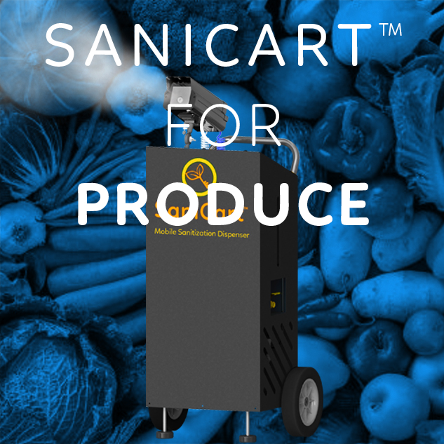 Sanicart™ for produce