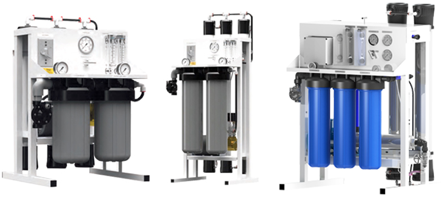 light commercial water filtration