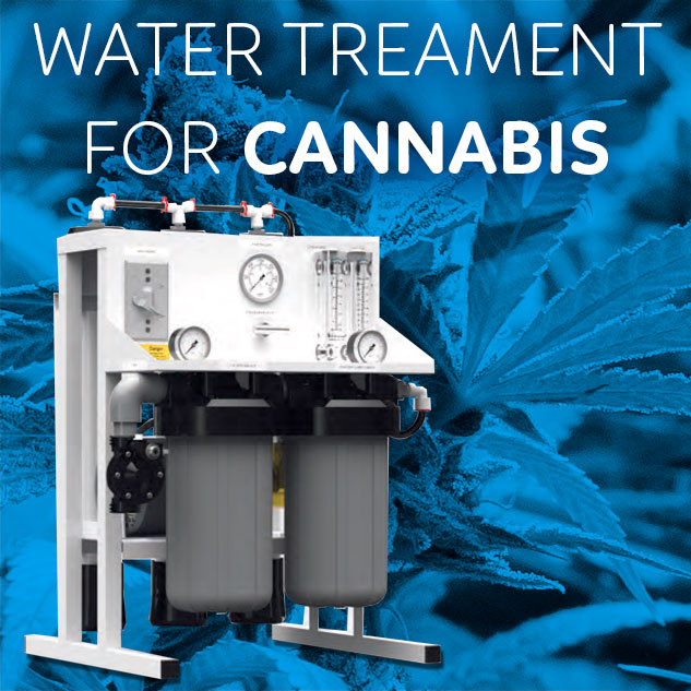 Water Treatment for cannabis