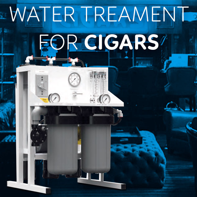 Water Treatment for tobacco and cigars