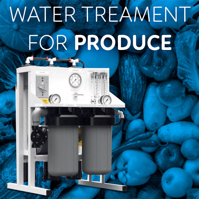 Water Treatment for produce
